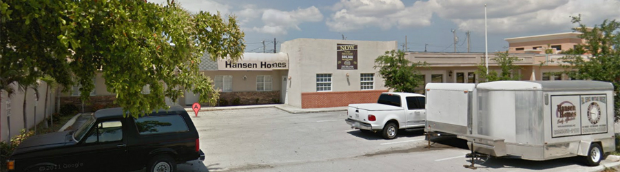 Hansen Homes of South Florida, LLC office in Cape Coral, Florida