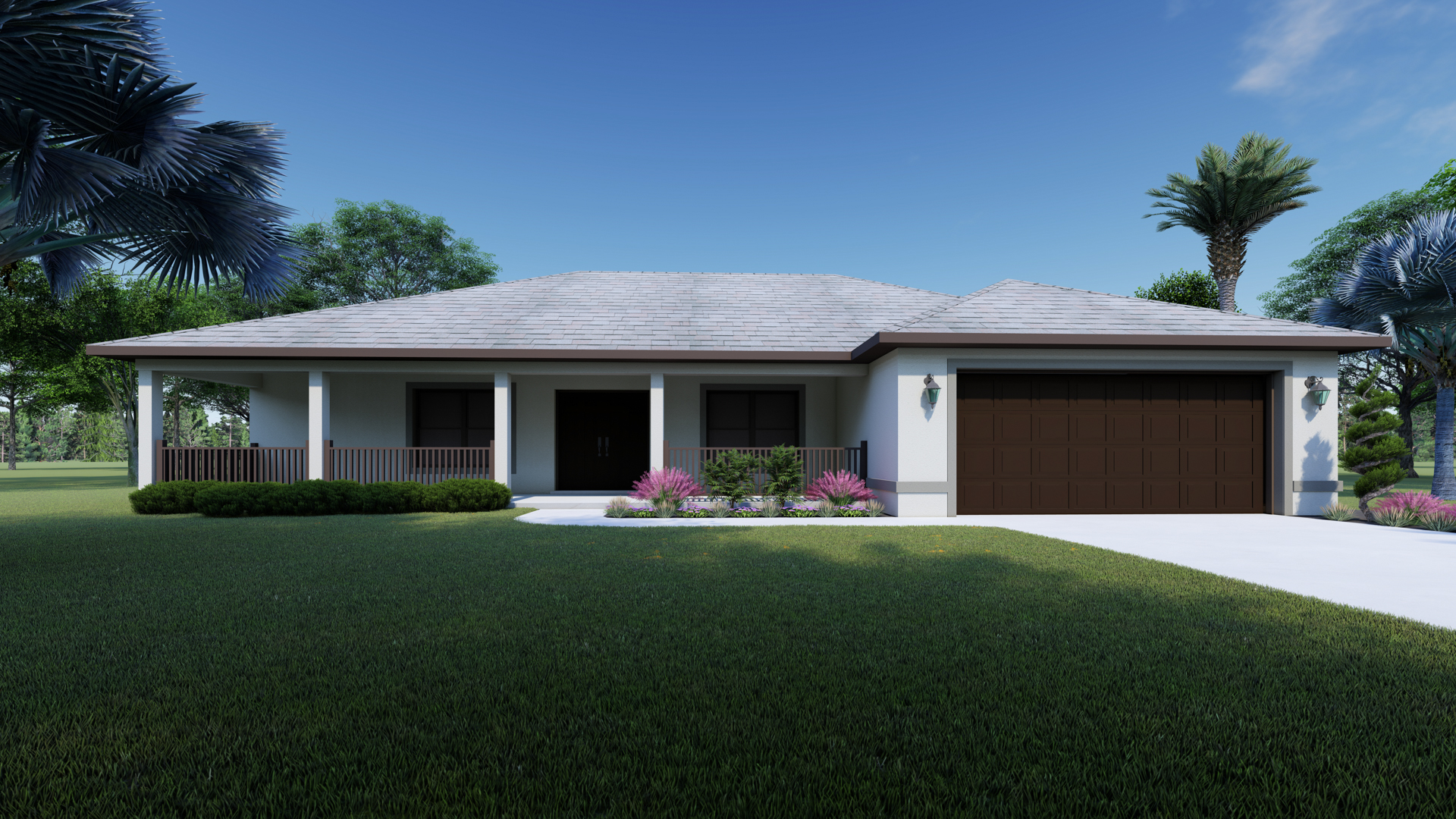 The Cottrell Front Porch Home Plan